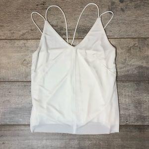 [Anthropologie] Deletta White Tank Top Size S